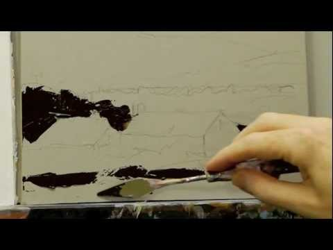 Acrylic Palette Knife Techniques - Lesson 1 of 4