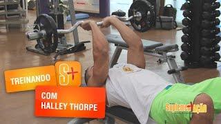 Halley Thorpe - Treino de Tríceps