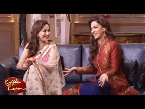 Madhuri Dixit & Juhi Chawla REVEALS star SECRETS Koffee with Karan 4 23rd February 2013 FULL EPISODE