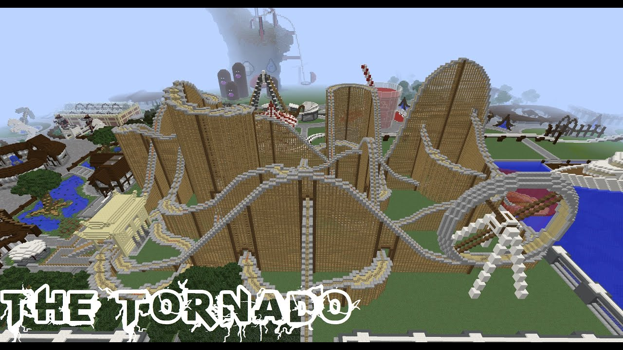 How To Build A Roller Coaster In Minecraft Pe
