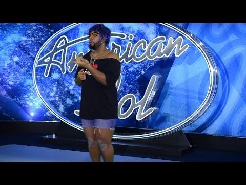 Starrkeisha's American Idol Audition! @TheKingOfWeird