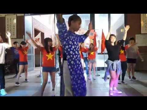 nhảy flashmob Việt Nam ơi-tuần lễ văn hóa Châu Á