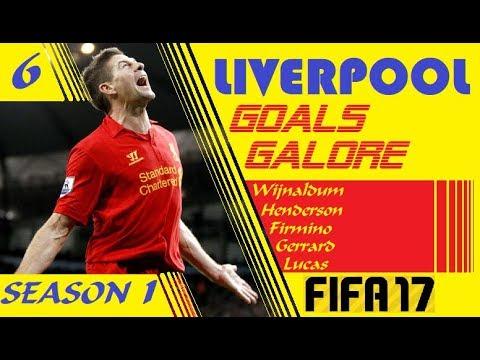 Liverpool Goals Galore + Reliving Steven Gerrard + Gerrard Career mode FIFA + Liverpool VS Newcastle