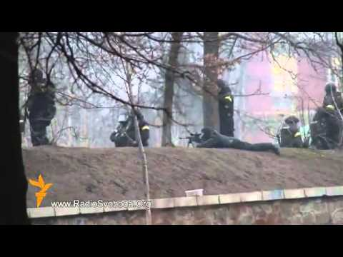 Live Fire: Ukraine Military Deploys Snipers Against Protesters