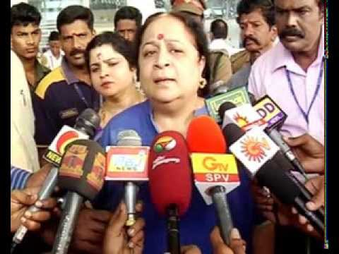 INTERVIEW ..... UNION MINSTER JAYANTHI NATARAJAN