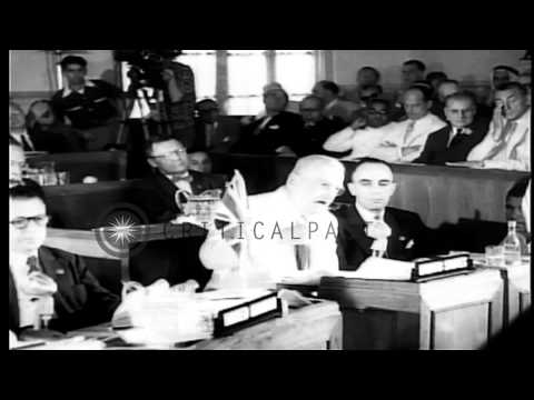Members of the Southeast Asian Treaty Organization strengthen their ties within c...HD Stock Footage