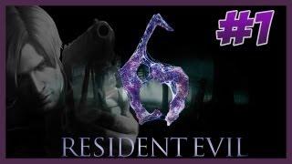 Resident Evil 6 ★1 LEON Capitulo 1 Part 1 PT-BR