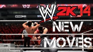 WWE 2K14 New Moves And Finishers, Chokeslam, Alberto Del