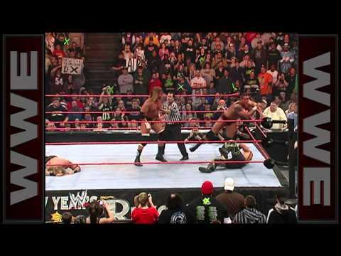 Rated-RKO vs. D-Generation X - World Tag Team Championship Match: New Year's Revolution 2007