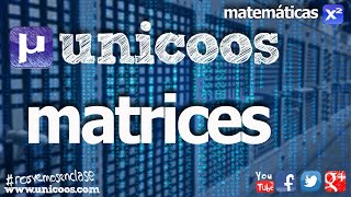 Matemáticas: Matrices