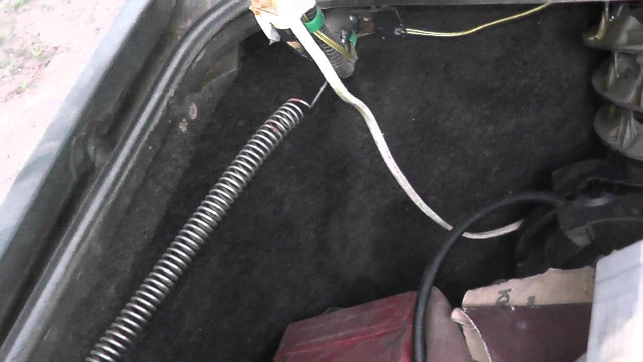 Электрический привод замка багажника V. 2 бортжурнал Лада 43