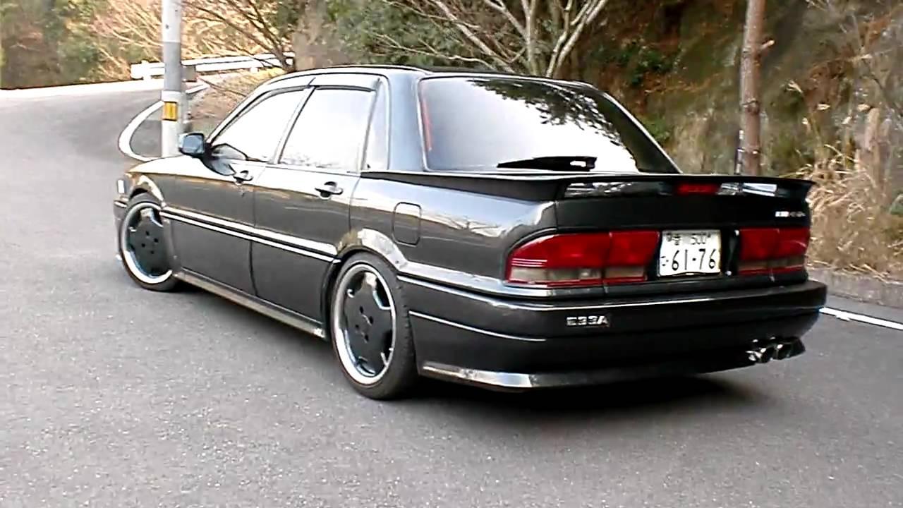 Mitsubishi galant amg youtube