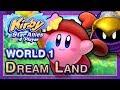 Kirby Star Allies World 1 Dream Land 4 Player