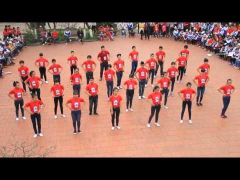 Dân vũ Doremon Khối 9 THCS Tân Long