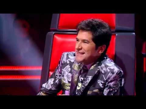 Sam Alves e Marcela Bueno. Duelo The Voice.