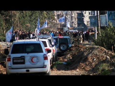 Scenes From a U.N. Convoy Under Attack in Syria | The Foreign Bureau