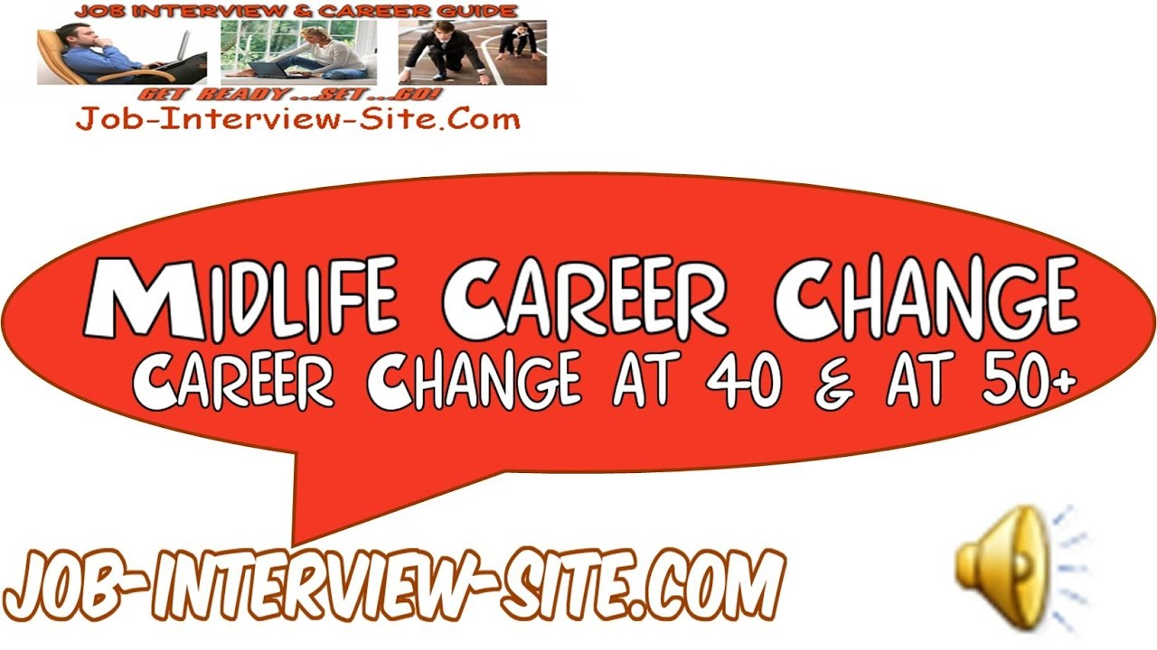 midlife adult career change