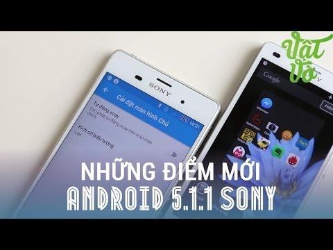 Vật Vờ - Những thay đổi, nâng cấp mới trên Android 5.1.1 của Sony Xperia Z2/Z3/Z3c