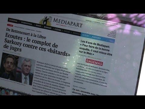 Mediapart: écoutes révélées, soupçons renforcés sur Sarkozy