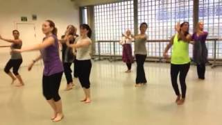 Ghagra Dance Madhuri Masterclass In London With Minila