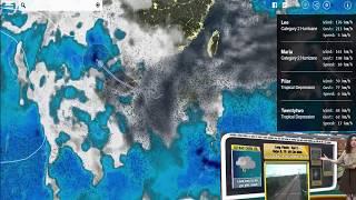 Dự báo thời tiết 25/9/2017 Áp thấp nhiệt đới giật cấp 8 đổ bộ vào Quảng Ninh - Hải Phòng
