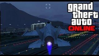 GTA 5 Online Invadindo O Forte Zancudo Sem Policia. (GTA