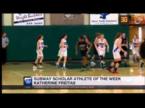 Subway Scholar Athlete of the Week - Katherine Freitas