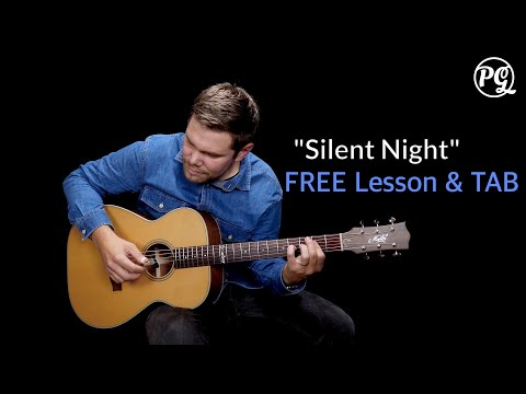 Silent Night Christmas Song On Guitar