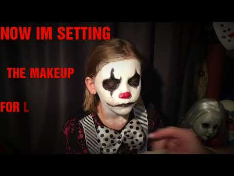 Scary Mary Clown Makeup Tutorial