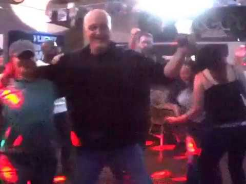 Dancing on a Saturday Night at Mega-Bites in Crossville,TN on 4-1-17