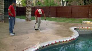 """""""Paint On, Paint Off""""-How We Resurface Concrete In Keller"""