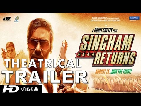 Singham Returns | Theatrical Trailer | Ajay Devgn & Kareena Kapoor