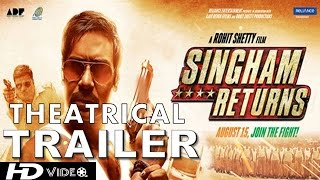 Singham Returns : Theatrical Trailer :  Ajay Devgn & Kareena Kapoor