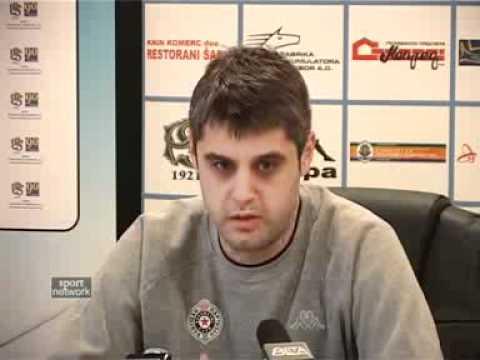 Partizan – Crvena zvezda – konferencije za medije pre i posle utakmice