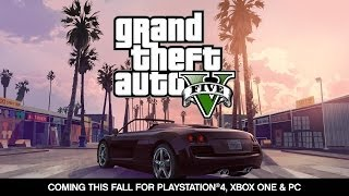 Grand Theft Auto V- Coming For PlayStation®4, Xbox One