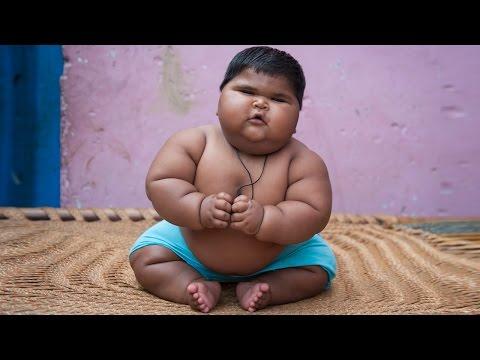 10 месечната Алија има 18 килограми и уште расте