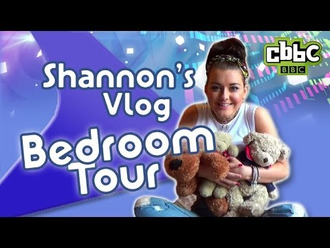 CBBC: Friday Download Shannon's Vlog - Bedroom Tour