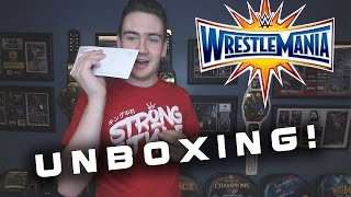 WWE WrestleMania 33 Ticket Unboxing | Brandon Hodge Unboxing #85