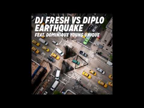 (BASS BOOSTED) DJ Fresh Vs Diplo - Earthquake Feat. Dominique Young Unique