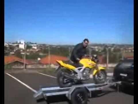 Carreta reboque para uma moto #27
