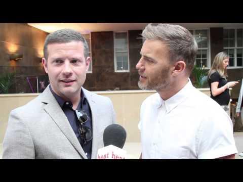 X factor 2013 Dermot and Gary Barlow