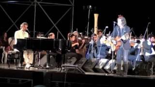 Zucchero & Andrea Bocelli in concert. 25.07.2010 in Lajatico, Tuscany, Italy