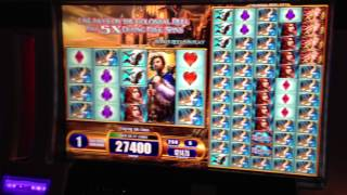 Van Helsing Slot Machine Bonus Win on Max bet $12.50