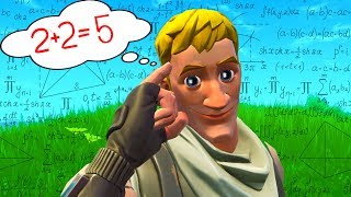 When Default Skins Think They're Smart (Fortnite Memes)