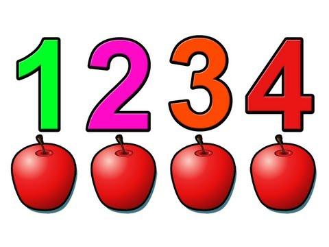 Cantecele - Sa numaram merele! - Engleza