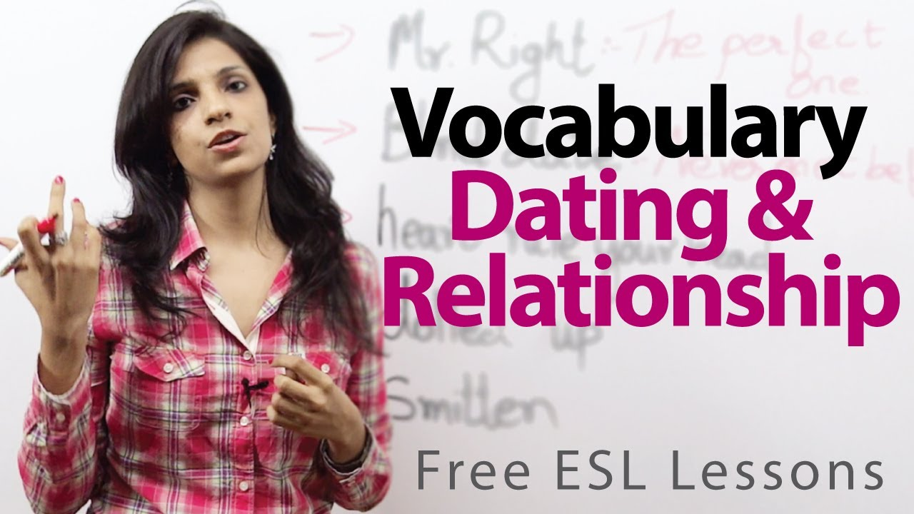 Dating vocabulary esl