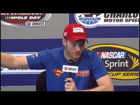Dale Earnhardt Jr Coca Cola 600 Interview NASCAR video