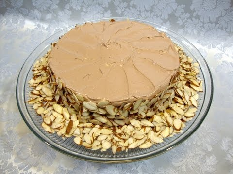 Episode 114 - Julia Child's Reine de Saba (Queen of Sheba) cake - 8-19-12 - The Aubergine Chef HD