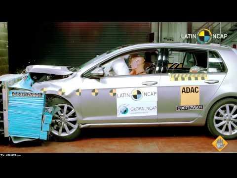 Cinco estrellas en seguridad para el VW Golf VII brasileño