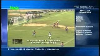 18/08/1982 - Coppa Italia - Catania-Juventus 1-1